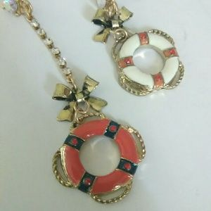Nautical Betsey Johnson earrings